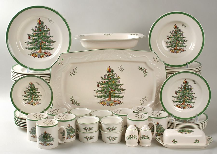 Spode Christmas Tree - will always remind me of family Christmas ...