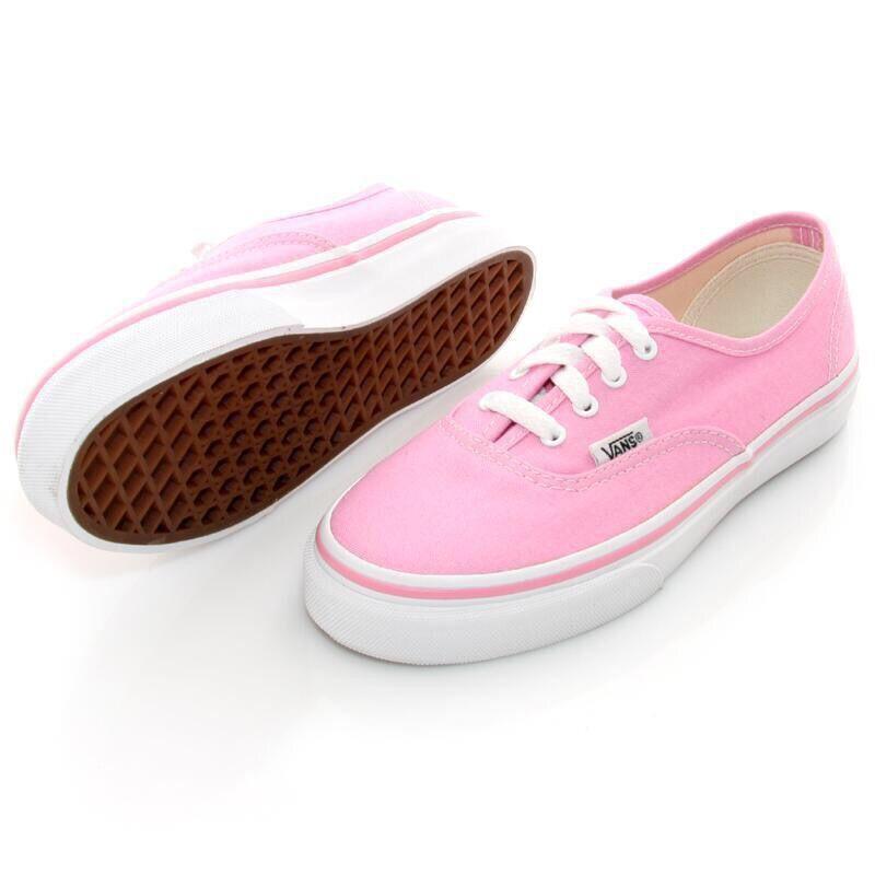 zapatos vans rosa