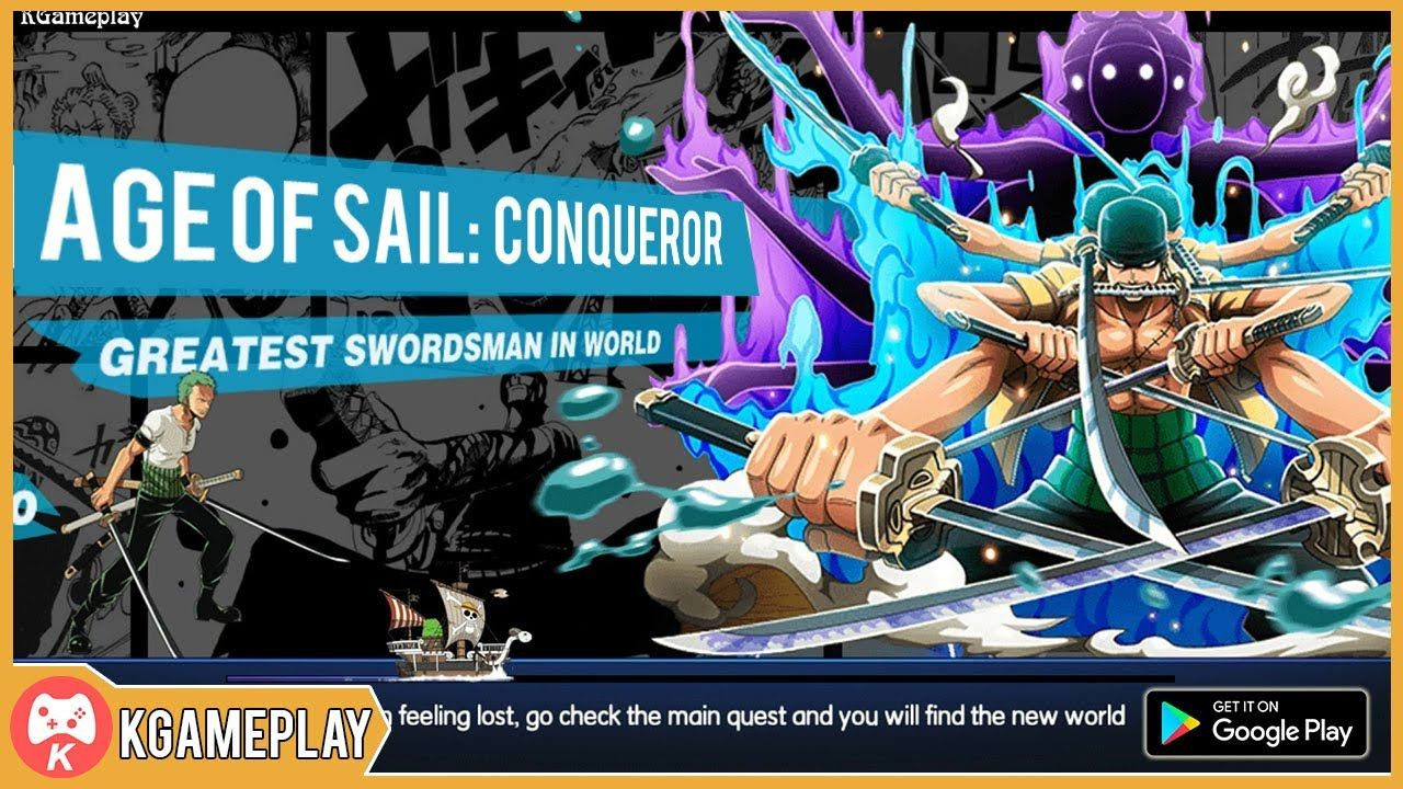 Age of Sail Conqueror Gameplay Anime Android iOS Fun