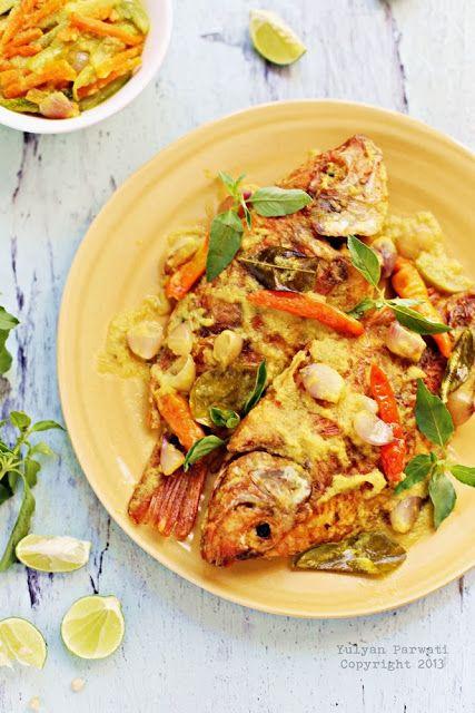 Masak Ikan Nila : masak, Cooking, Love:, Merah, Kuning, Resep, Masakan, Asia,, Indonesia,, Memasak