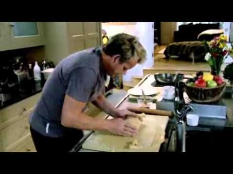How to make your pastry parcel for salmon en croute - Gordon Ramsay - YouTube
