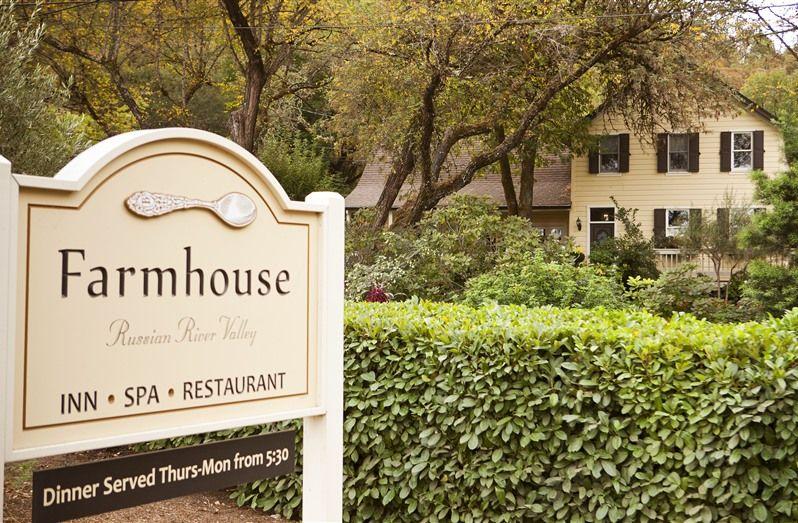 Farmhouse Inn in Forestville, California B&B Rental