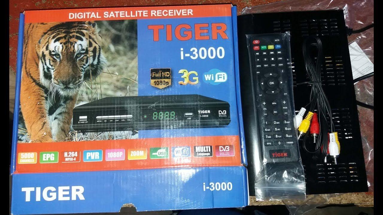 Tiger i 3000 hd Digital Satellite Receiver Review 2018