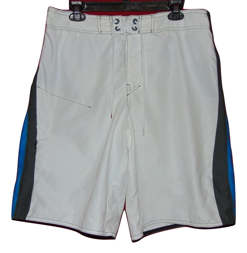 238b3788b0 Tony Hawk White And Blue Swimsuit Small #TonyHawk #BoardShorts ...