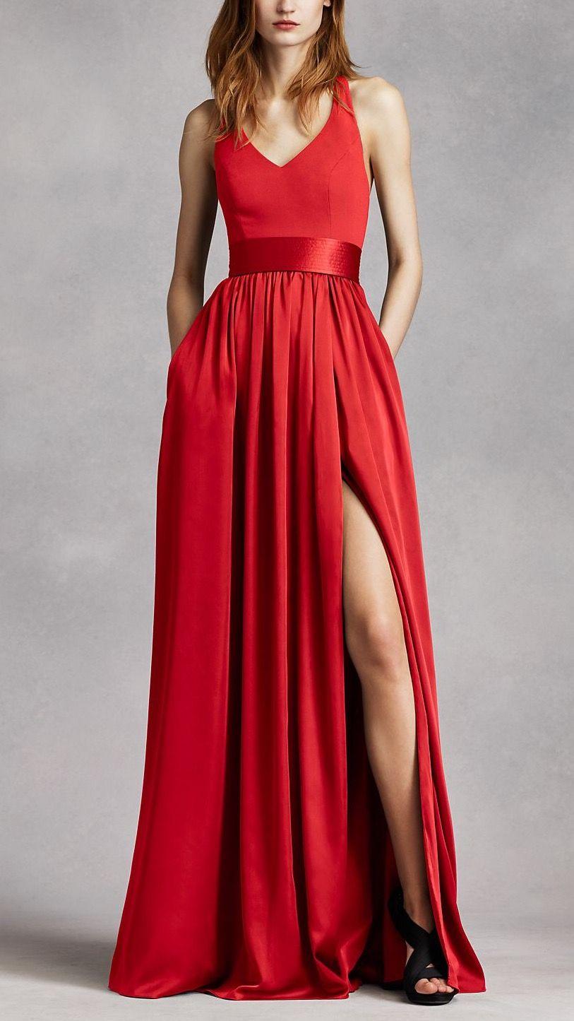 6f1ad4db18 Love this style dress! Vera Wang White VW360214