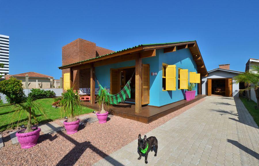 Reforma Colorida para uma Casa de Praia | Ideias Reformas Imóveis