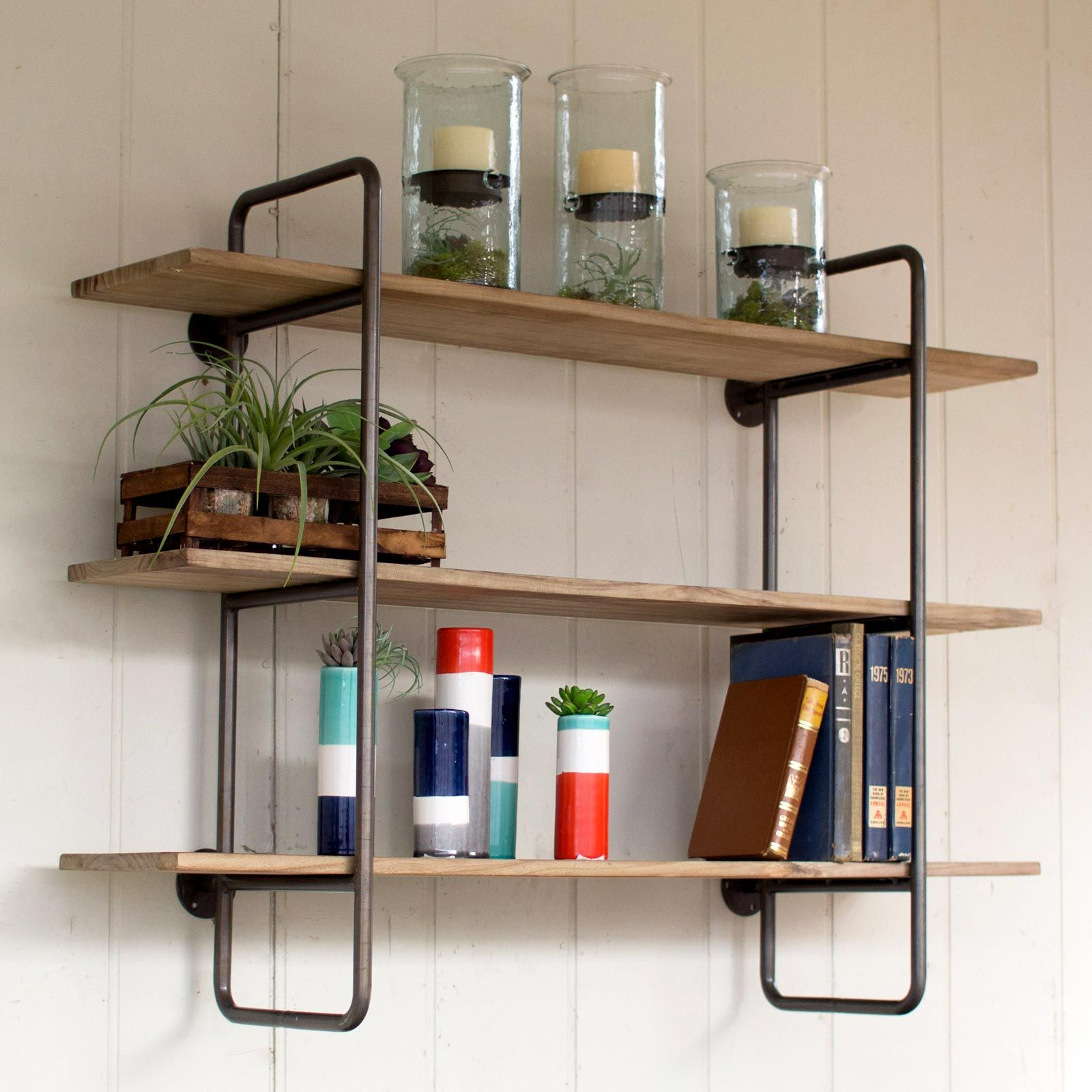 Shelves On The Wall Furniture And Décor For The Modern Lifestyle Industrial