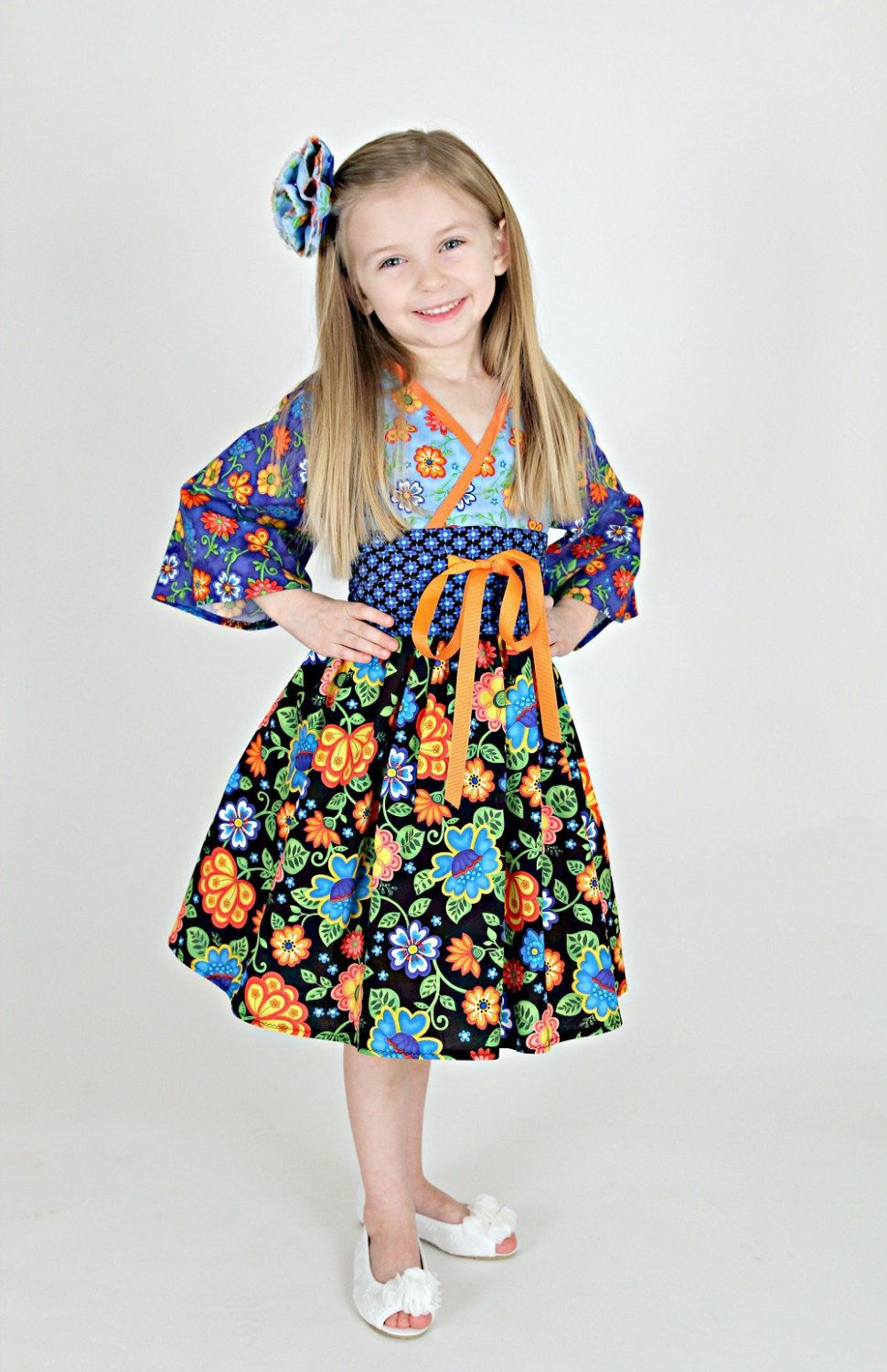 d44af5bae Royal Blue Dress - Girls Spring Dress - Preteen Dress - Birthday Party Dress  - Easter Dress - Preteen - Toddler Clothes - 12 mos to 14 yrs