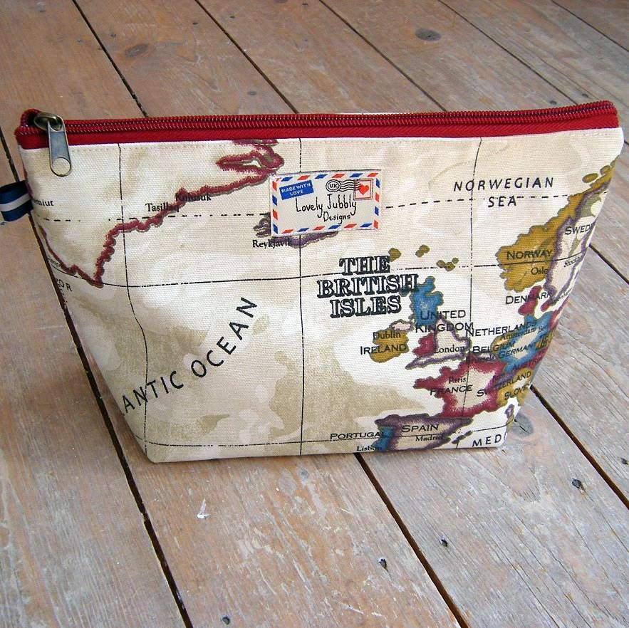 World map travel gift makeup toiletry wash bag wash bags bag and world map cosmetic toiletry wash bag gumiabroncs Image collections