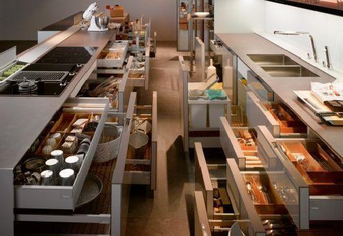 La importancia de un buen almacenaje en la cocina   Cocinas ...