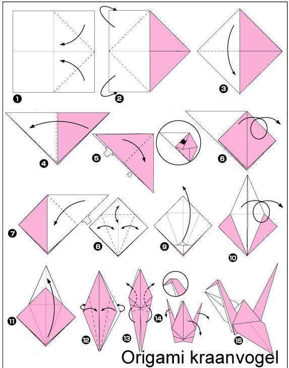 Geliefde DIY tutorial: Kraanvogel mobile via DaWanda.com | Pinterest  @PV11
