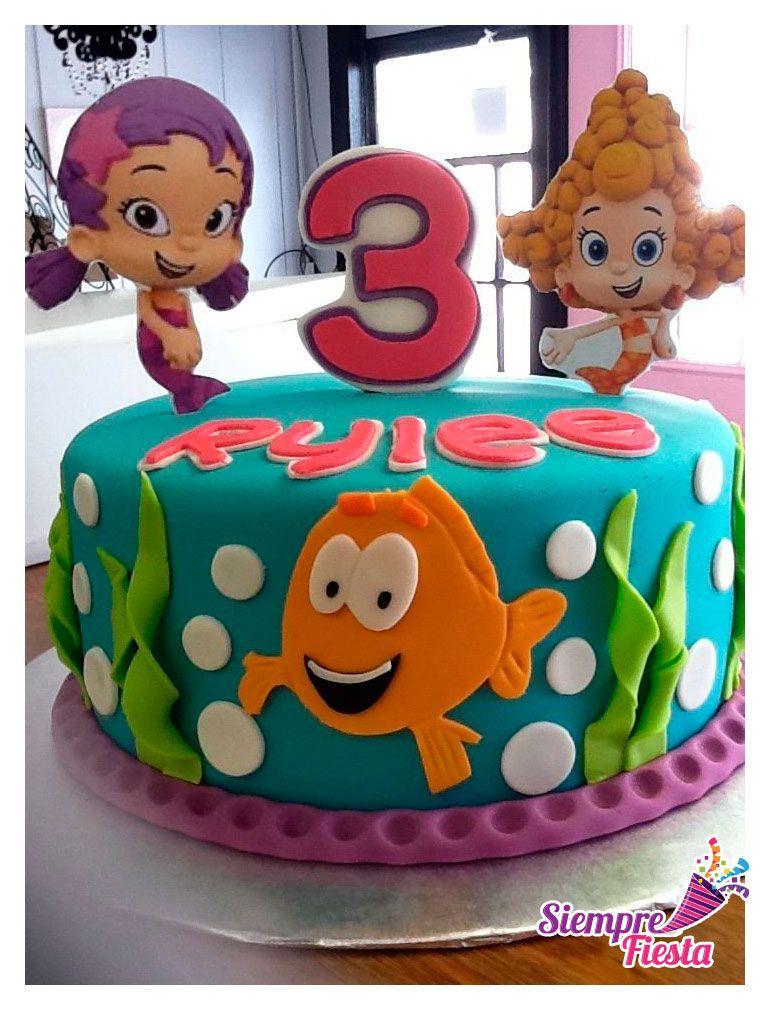 ideas para pasteles de fiesta o de cumpleaos de los bubble guppies encuentra nuestros artculos