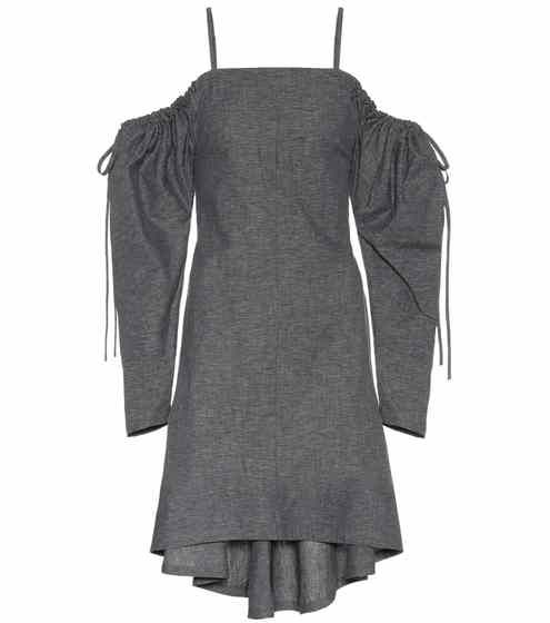 b8db180d94f0 Exclusive to mytheresa.com – off-the-shoulder cotton dress | JW Anderson