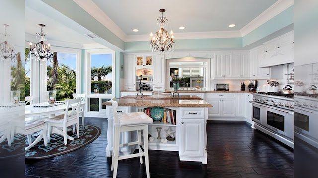 Wow! Big, open concept kitchen design: www.rangehoodsinc.com | Home ...
