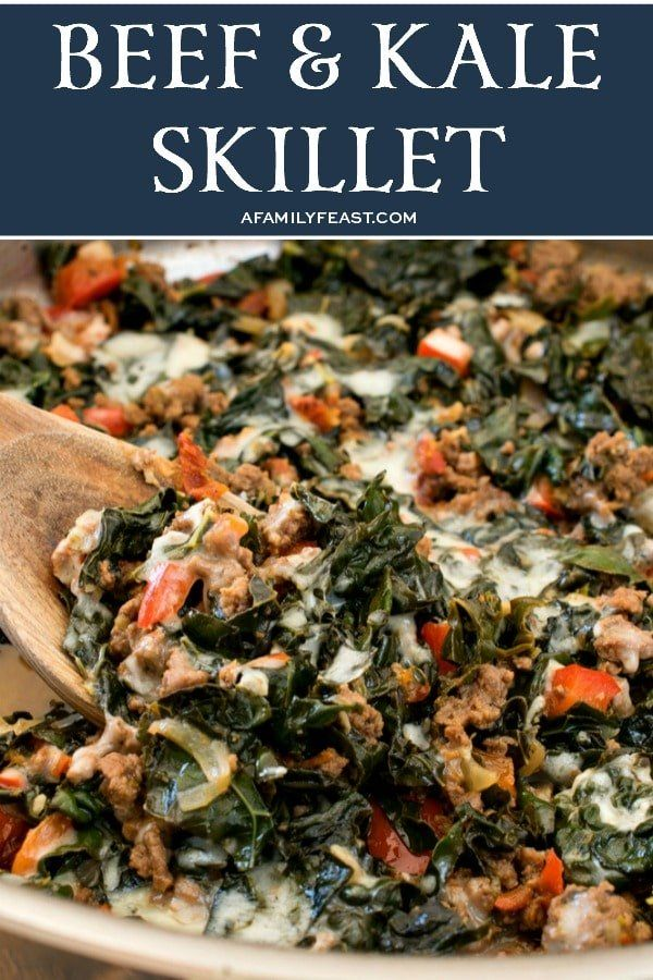 Tender Tuscan Kale Ground Beef Bell Peppers Sun Dried Tomatoes And Lemon Give This Easy Keto Friendly Beef And Kale Ski In 2020 Kale Recipes Beef Keto Beef Recipes