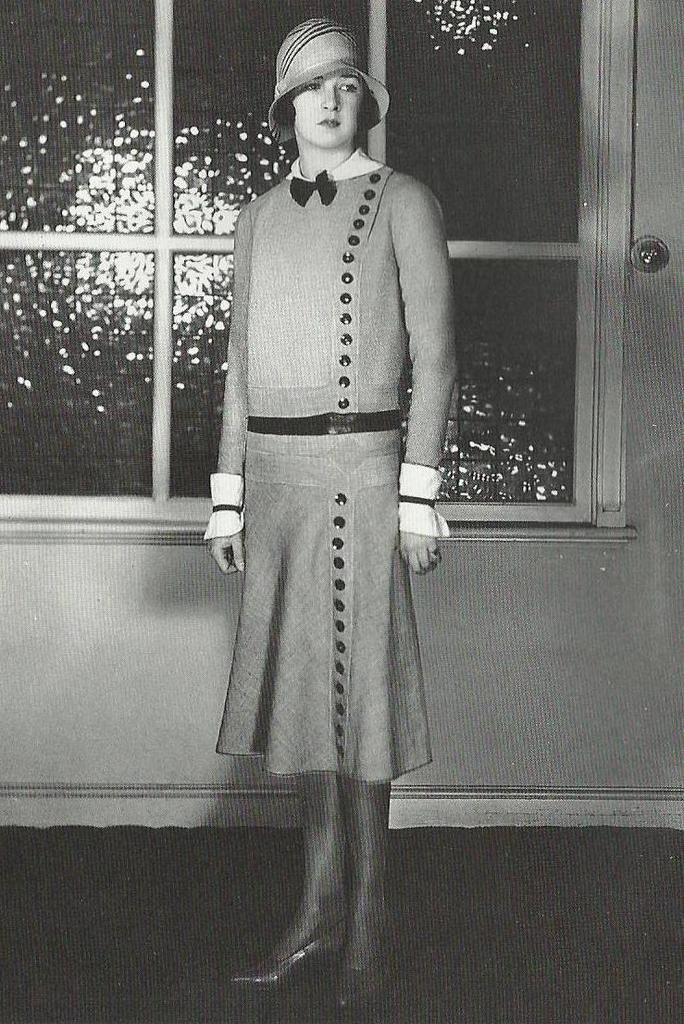 photo de mode des ann es 20 tailleur de jeanne lanvin 1929 ann es 20 pinterest mode des. Black Bedroom Furniture Sets. Home Design Ideas