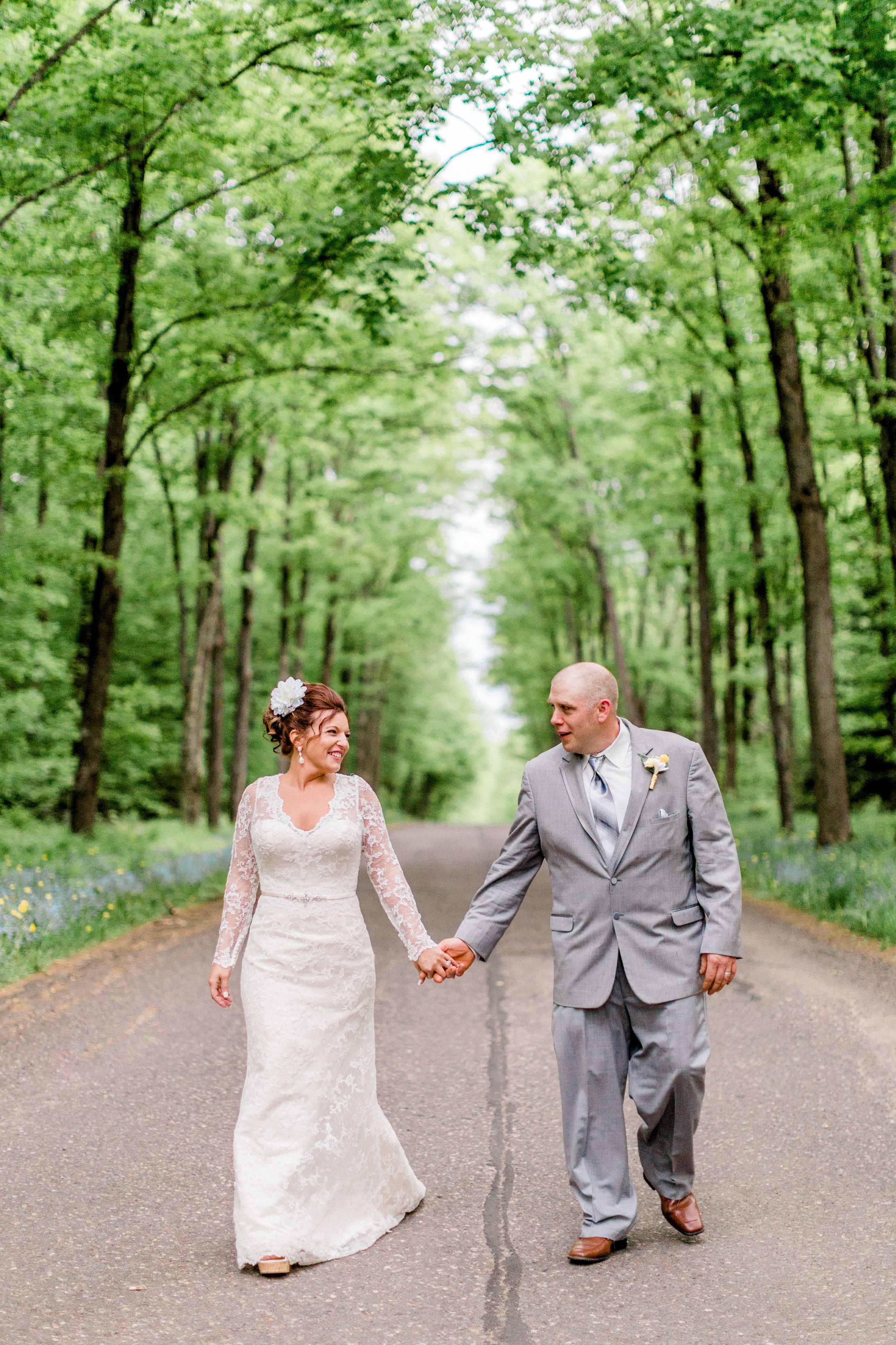 Michigan Wedding Photography In The Woods Northern Michigan Light