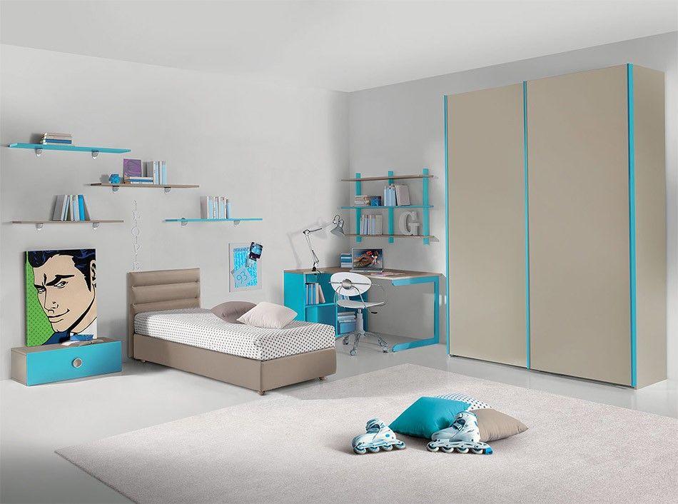 Modern Italian Kids Bedroom Composition Vv G004 Www Umodstyle Com Modern Kids Bedroom Modern Kids Bedroom Furniture Modern Bunk Beds