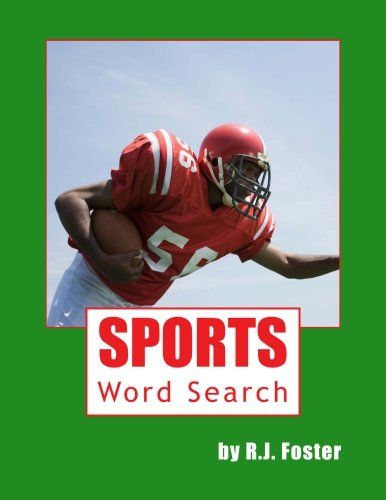 ad5c808161 Sports  Word Search by R.J. Foster http   www.amazon.com