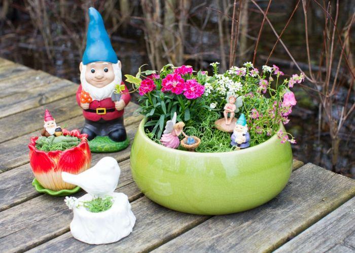 Blumentöpfe Selber Machen Tolle Gestaltungsideen Für Pflanzen ... Jasmin In Blumentopf Zuchten Wichtige Tipps