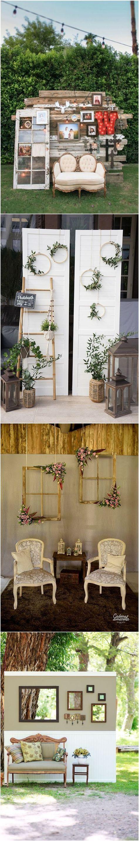 Diy Wedding Photo Booth Ideas