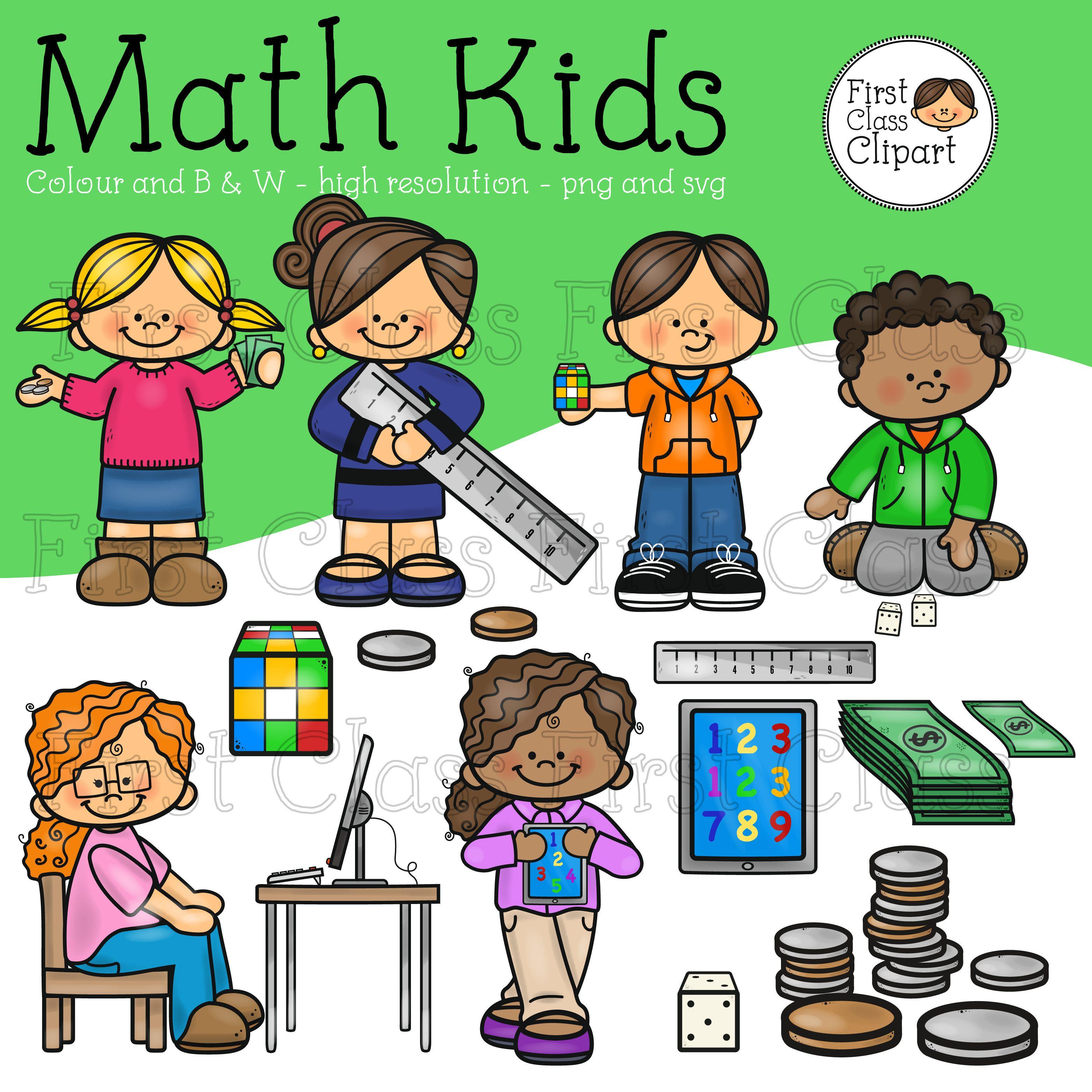 Math Kids Clip Art Math For Kids Kids Clipart Clip Art