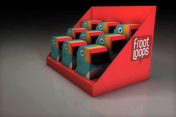 Froot Loops on Behance