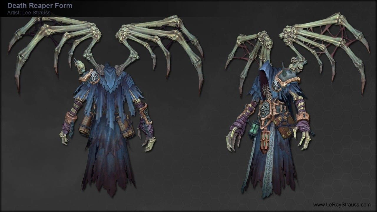 Pin By Dark King On Darksiders In 2020 Art Basics Game Concept