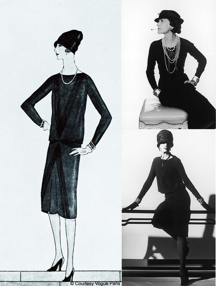 Little Black Dress Nancy Zhang The Sea Of Fertility Chanel Little Black Dress Coco Chanel Fashion Fashion History
