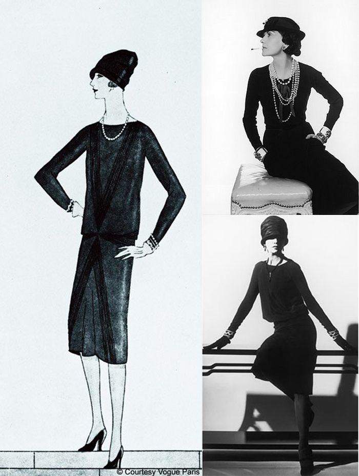 La petite robe noire coco chanel histoire