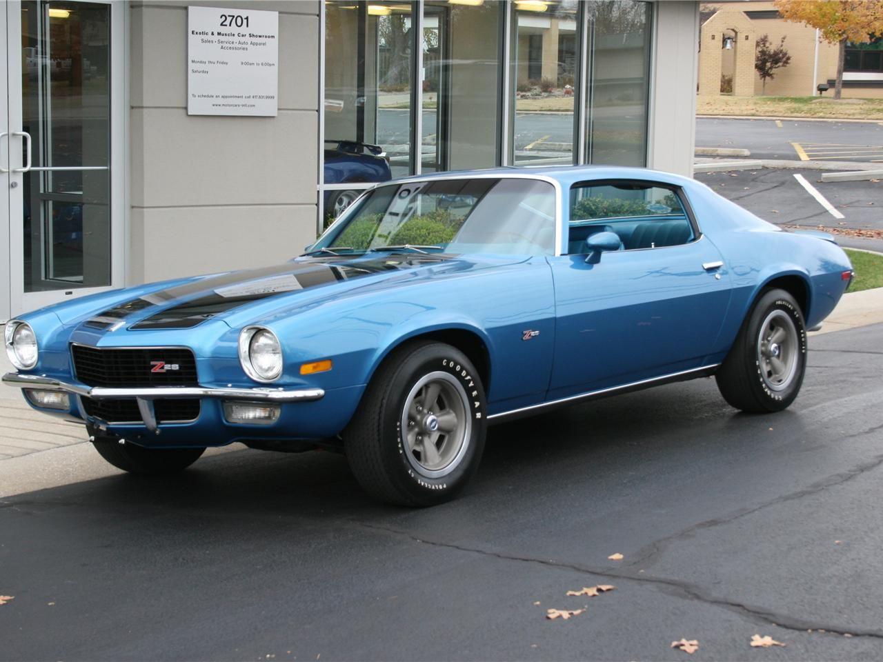 1970 Chevrolet Camaro Z28 Lt1 V8 350 In 5 735 Cm 360 Hp