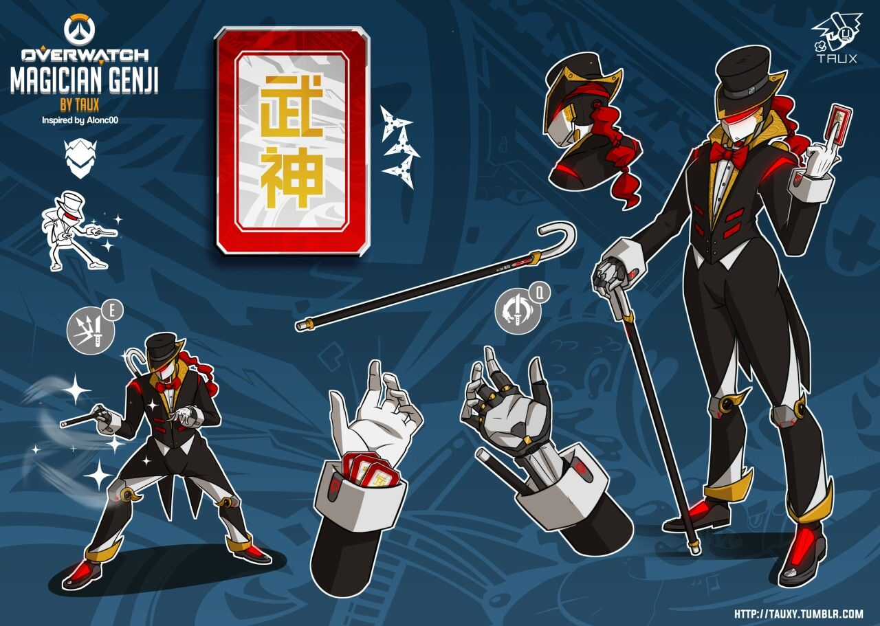 As such, you might be wondering how long you have to … http://tauxy.tumblr.com/post/148630798000/magician-genji-skin-idea-for-overwatch-inspired ...