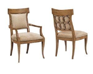 Ferguson Copeland Directoire Ring Side Chair 22 Wx22 25 Dx38 H