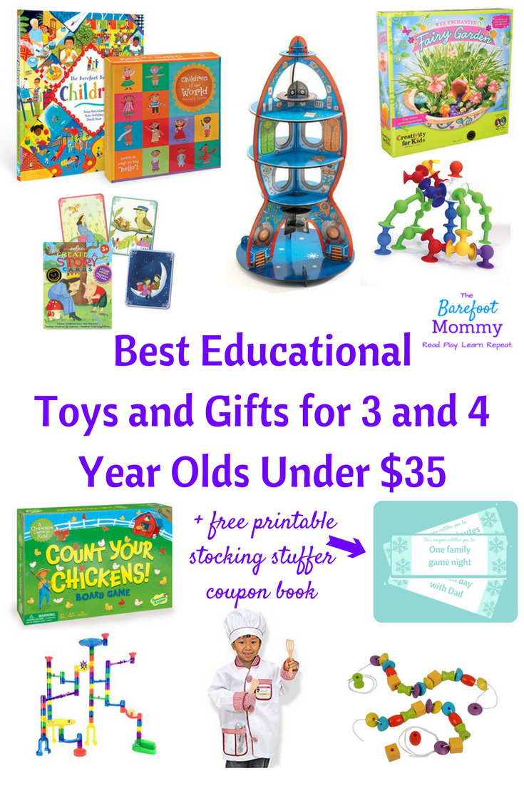 Best Educational Toys And Gifts For Three And Four Year