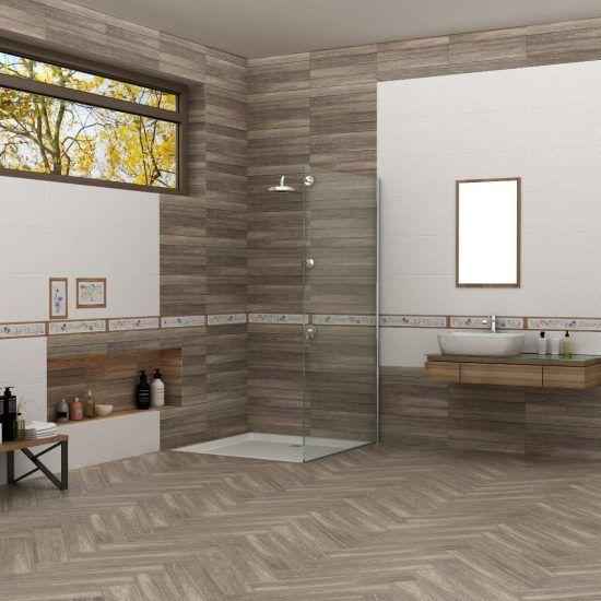 Bathroom مجموعة سيراميكا كليوباترا Decor Home Decor Ceramic Tiles