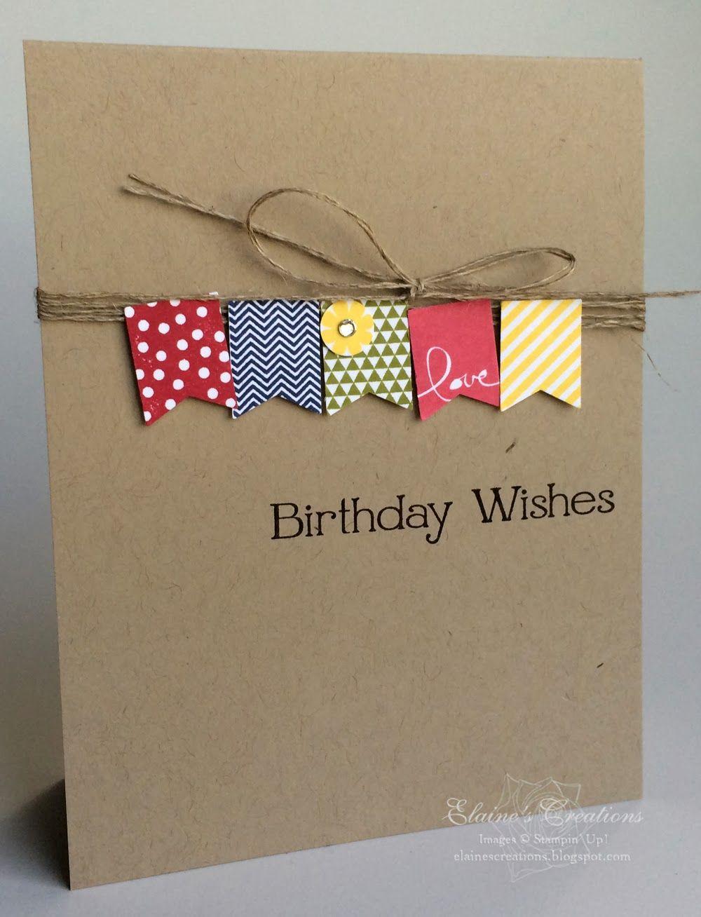 Elaines Creations Sale A Bration Banner Blast Birthday Card