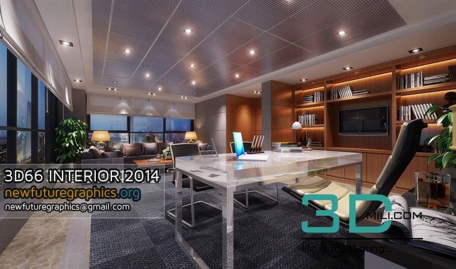 84  3Dsmax Scene Offices Interiors Free Download - 3D Mili