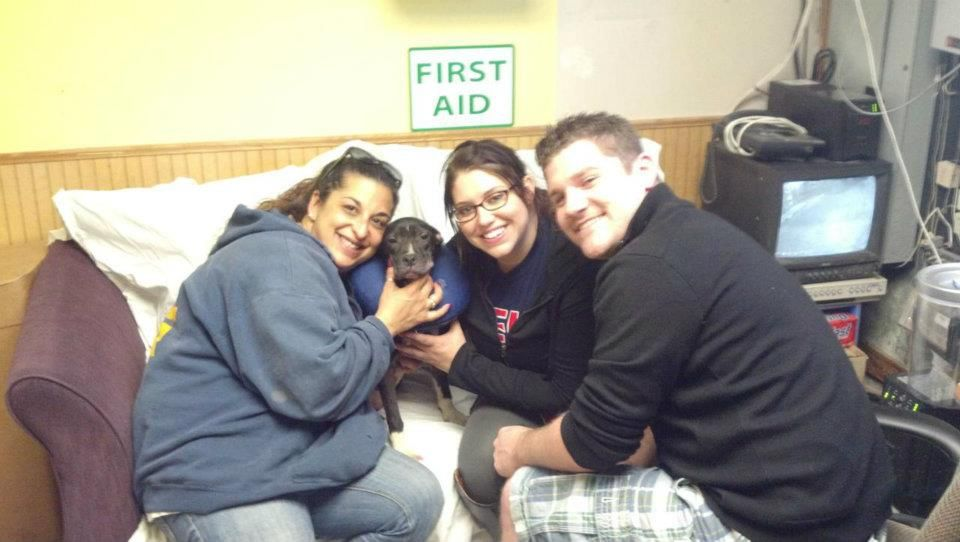 Little Dahlia is a happy girl with her new parents! 4/10/2012