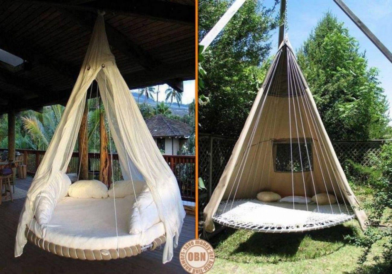 aus einem alten trampolin ein h gesbett f r den garten. Black Bedroom Furniture Sets. Home Design Ideas