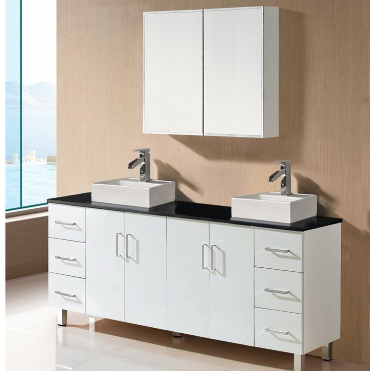 Whosale Factory Price China Cheap Modern Double Sink Bathroom