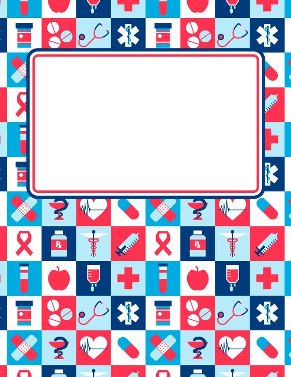 344afdf1b8a Medicina Forrar Libretas, Cubiertas Para Carpetas, Portadas Para Libretas,  Logo Enfermeria, Escuela