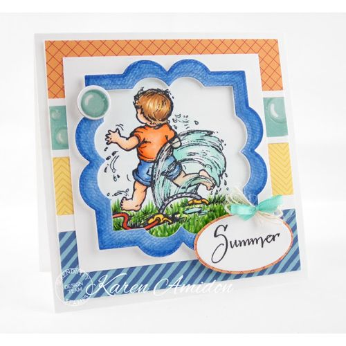 Serendipity Stamps Sprinkler - 50% Off July Stamp of the Month