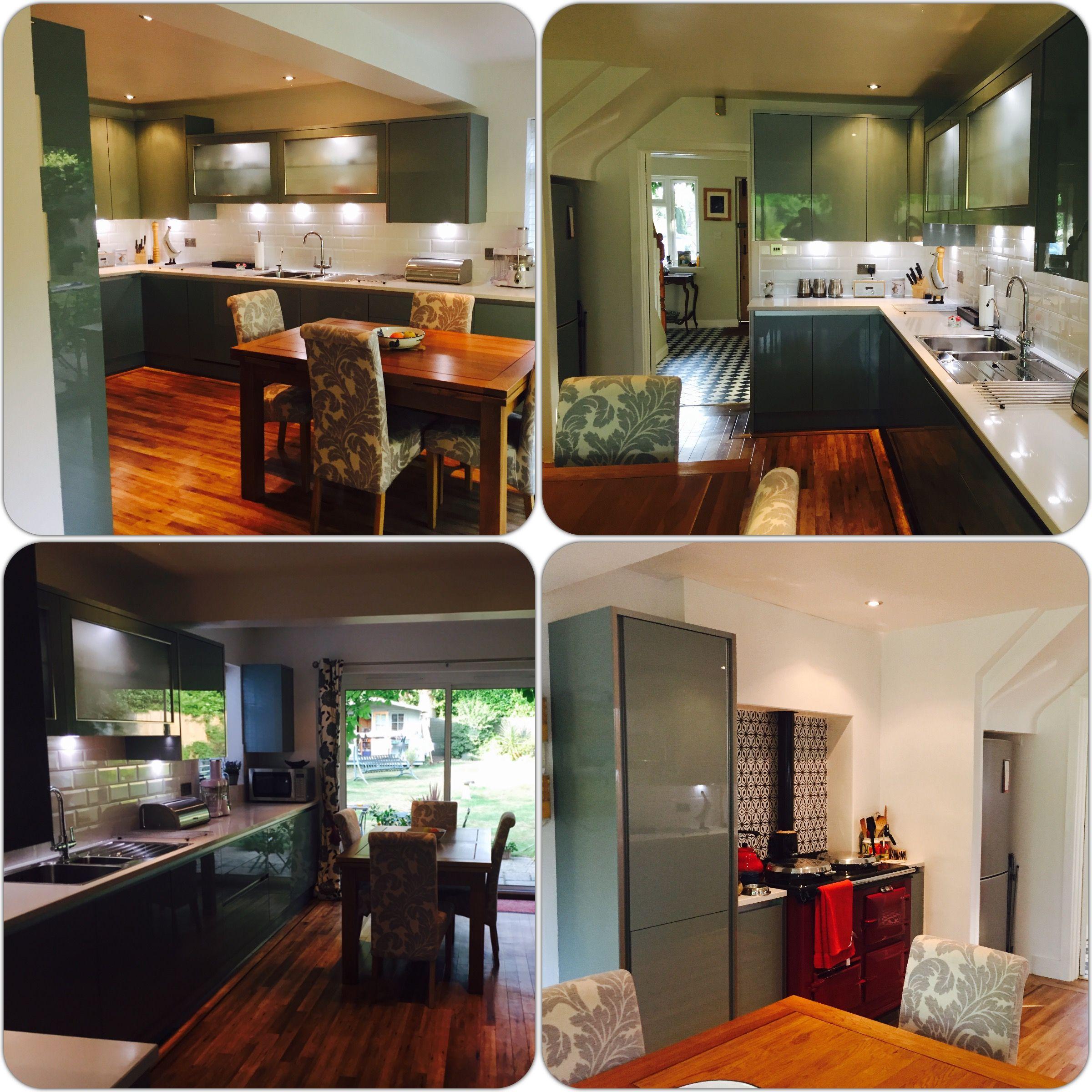 Best This Linda Barker Linea Pacrylic Blue Quartz Kitchen 400 x 300
