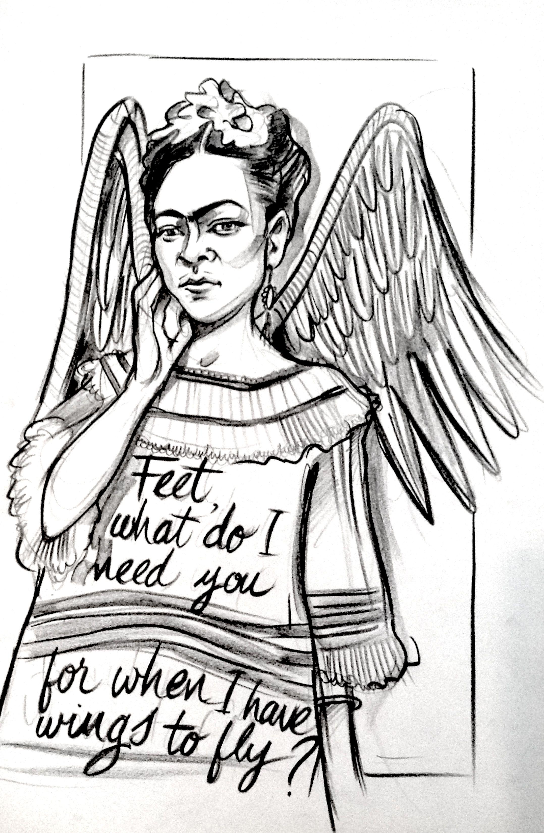 Großzügig Frida Kahlo Malvorlagen Ideen - Malvorlagen Ideen ...