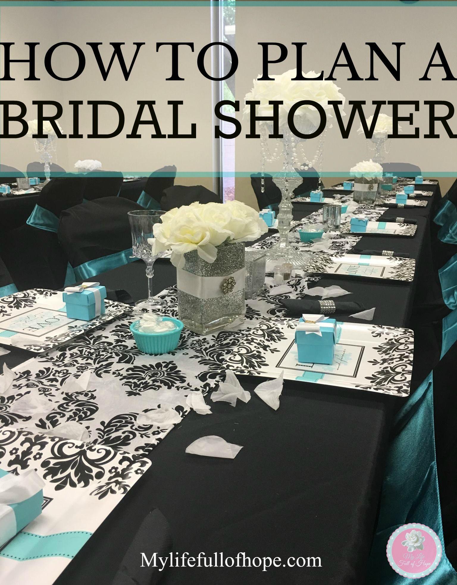 How To Plan A Bridal Shower Erin S Shower Pinterest Bridal
