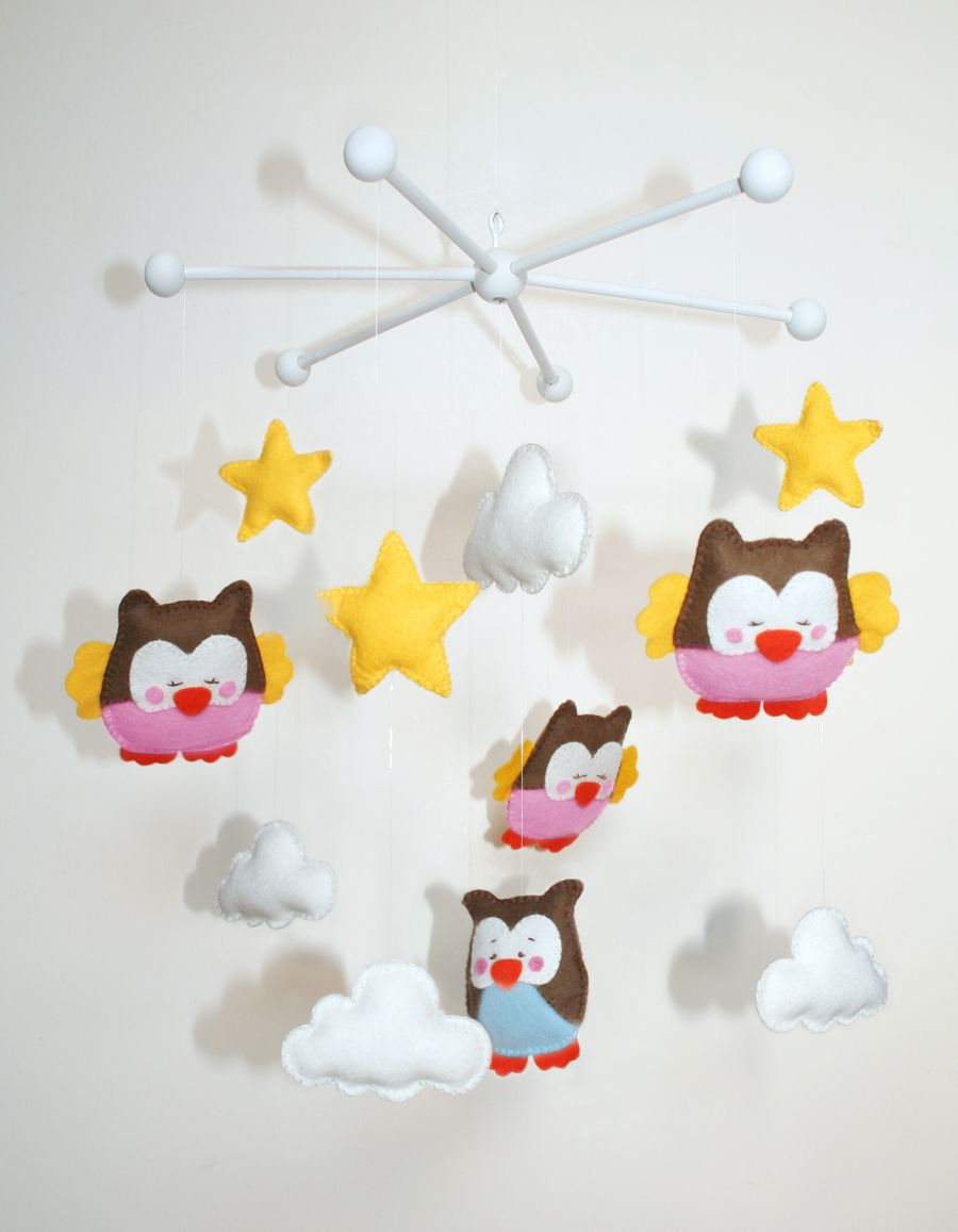 anleitung baby mobile selber machen n hen little things pinterest diy baby