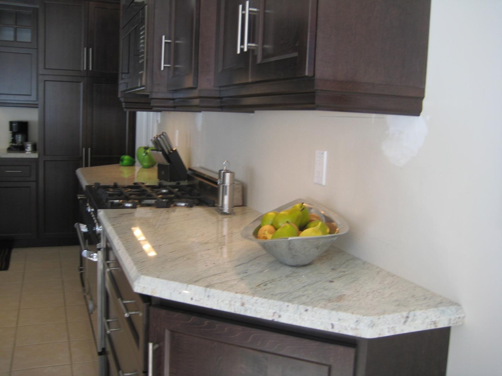 White granite countertops river white granite countertop for River white granite with white cabinets