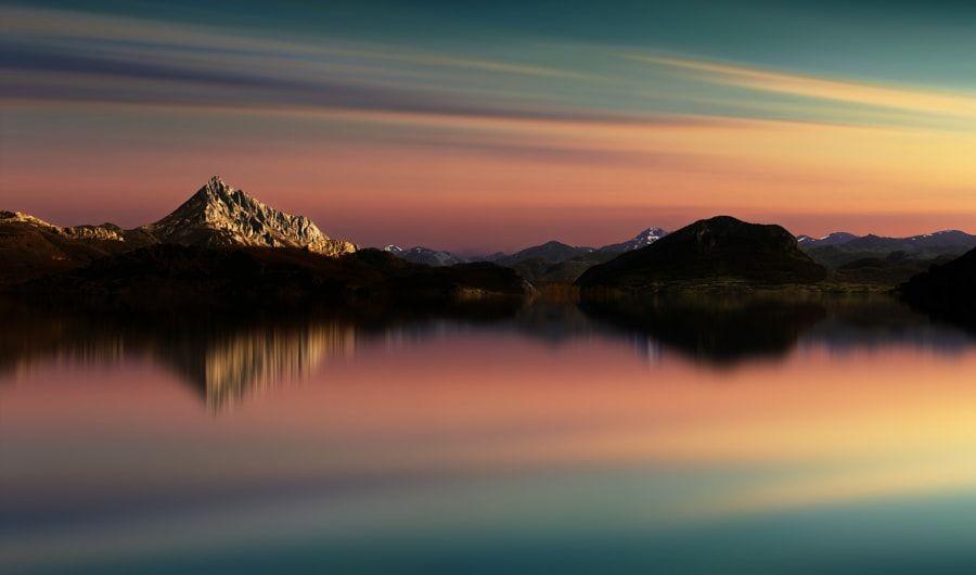 Lago Porma by Anna Ovatta #xemtvhay
