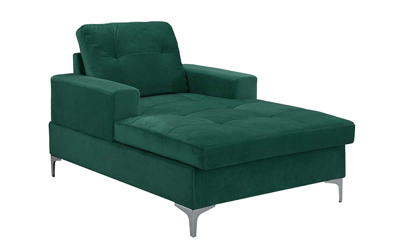 Divano Roma MidCentury Upholstered Chaise