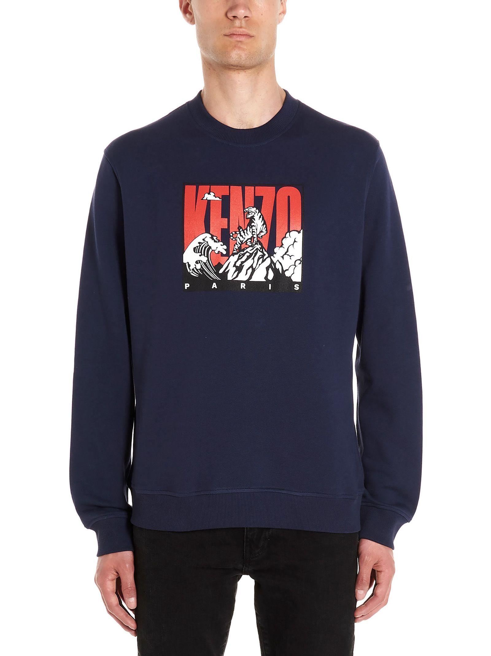 KENZO TIGER MOUNTAIN SWEATSHIRT. #kenzo #cloth   Sweatshirts